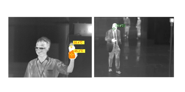 Airport Fixed Thermal Imaging Camera For Fever Screening And Detection 3