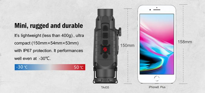 Multi - Functional Ir Thermal Imaging Scope With High Refresh Rate 50HZ 1