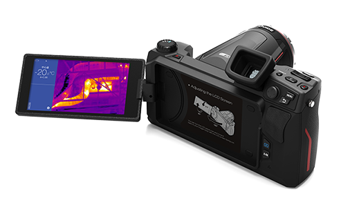 Wifi Handheld Thermal Imager , Thermal Imaging Camera For Electrical Inspections