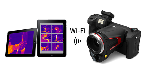 "5"",1280×720 Rotatable Display Thermographic Imaging Camera for Diagnose Electrical Faults"