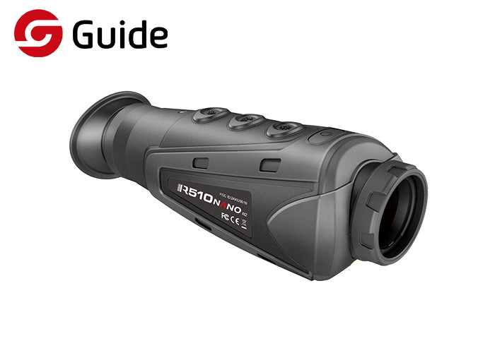 Micro USB Interface Mini Thermal Scope , Long Range Thermal Scope For Patrol
