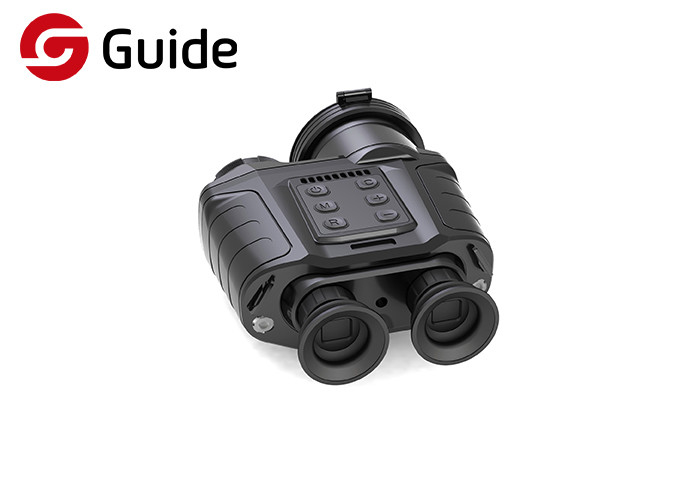 17μM IR Thermal Imaging Binoculars For Hunting , Thermal Night Vision Goggles