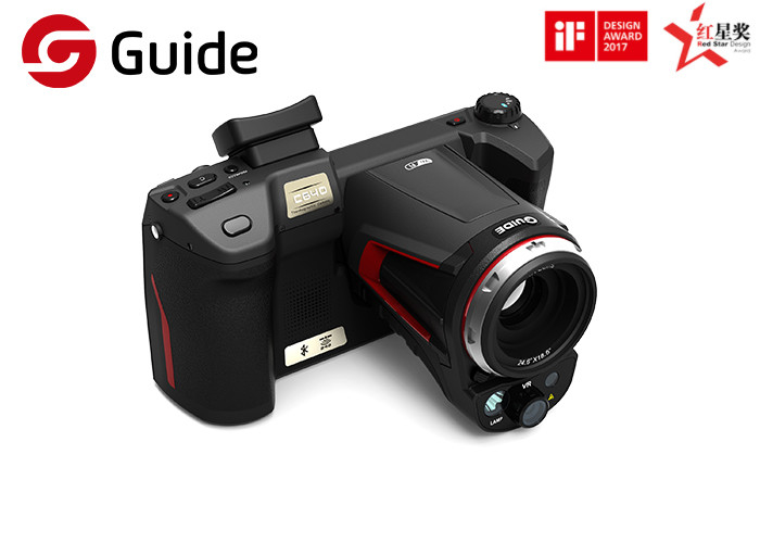 Advanced 640x480 Thermographic Imaging Camera With 1.1~10X Digital Zoom Guide C640Pro