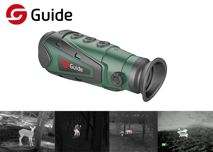 Handheld Infrared Thermal Night Vision Monocular Long Working Time For Hunting