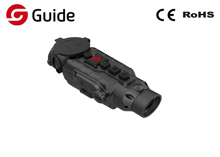 No - Shot Zero Thermal Imaging Clip On Scope , Infrared Heat Scope Manual Focus