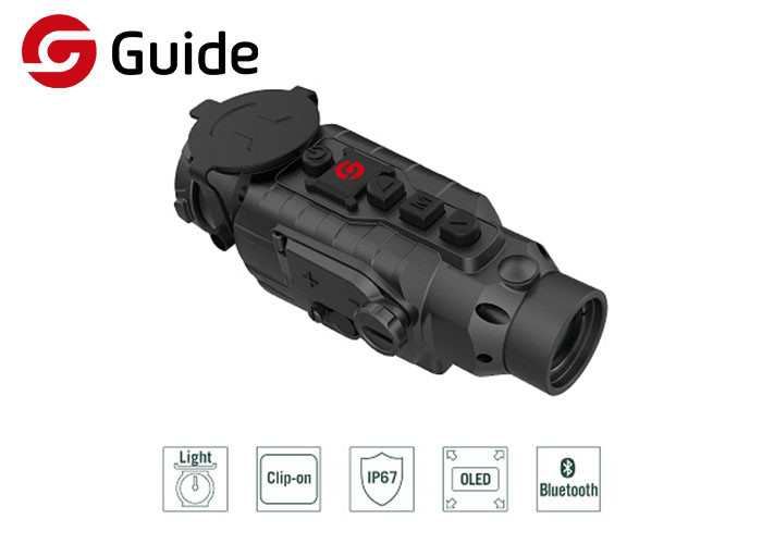 Wireless Connectivity Clip On Thermal Scope Compact Design For Wild Adventure