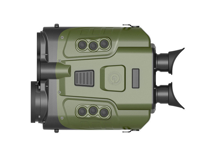 Integrated Uncooled Thermal Imaging Binoculars 6km Effective Visual Distance