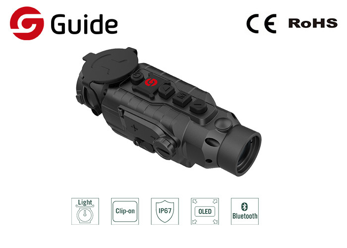 Versatile And Rugged Clip On Thermal Scope With IR Sensor 400×300 50Hz