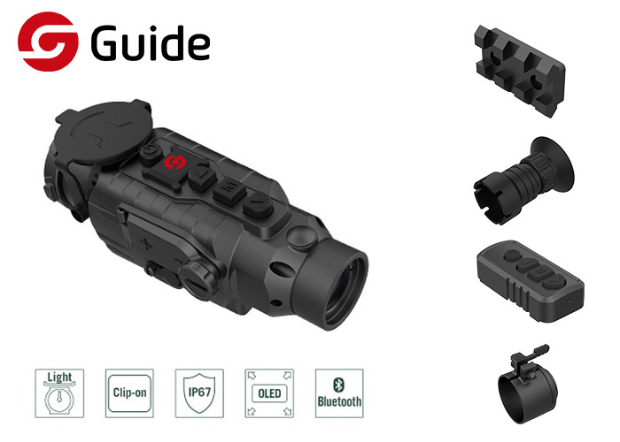 One Step Mounted Guide Clip On Thermal Imaging Scope For Hunting Search And Rescue