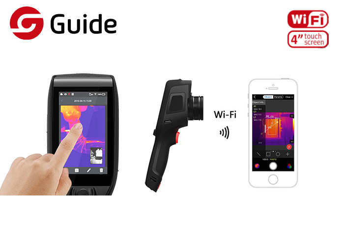 Professional Handheld Thermal Imaging Camera Accurate Temperature Measurements Function