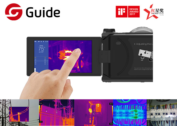 Guide C640P Advanced Infrared Thermography Camera With 640×480 IR Sensor