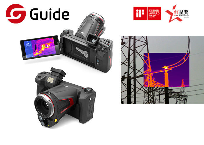 Hi Resolution Handheld Thermal Imaging Camera Guide C640Pro For Industrial Application