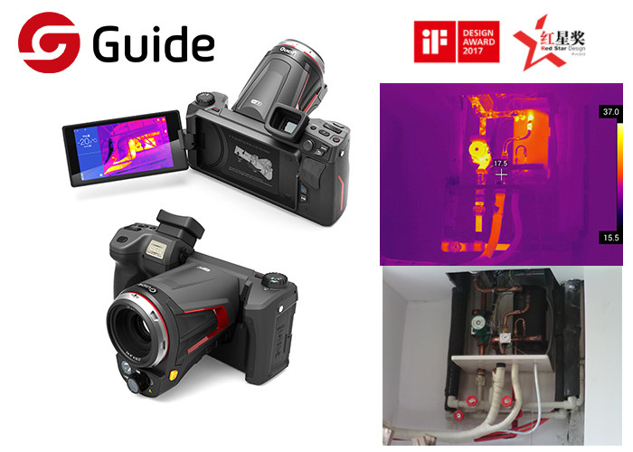 High Performance 640x480 Handheld Thermal Imaging Camera With 10x Digital Zoom