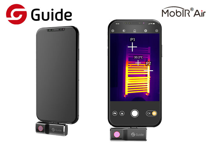 Guide MobIR USBC Smartphone Thermal Camera For Daily Needs 120x90 Resolution