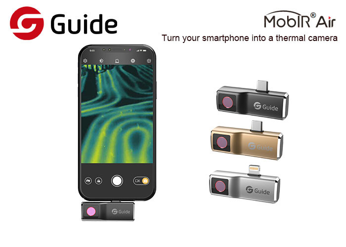 Low Running Power Mobile Phone Thermal Camera / Usb Thermal Imaging Camera