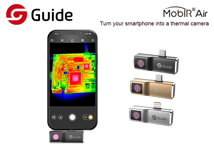 USB Smartphone Thermal Camera Attachment For Outdoor And Home Repair