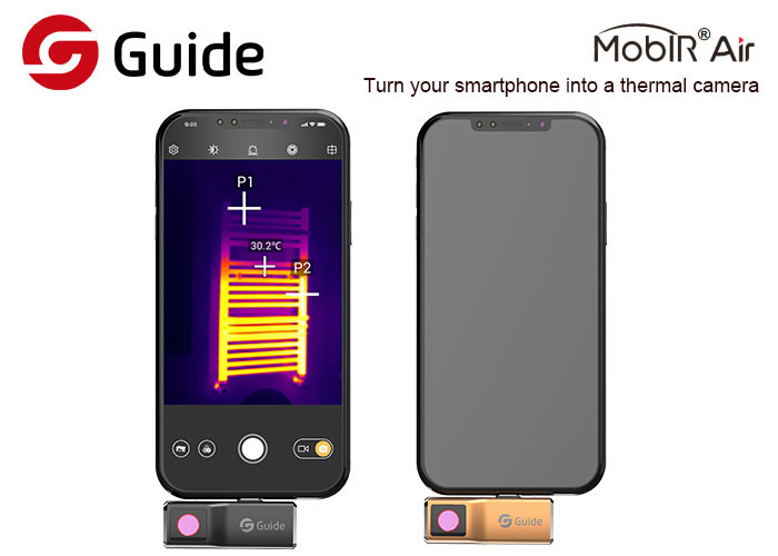 Android Smartphone Thermal Camera With 120x90 IR Sensor And 25HZ Frame Rate