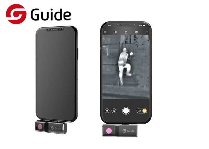 Smartphone Infrared Thermal Imaging Camera For Night Patrol 25 HZ Frame Rate