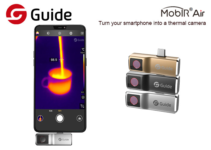 Real Infrared Thermal Imaging Camera For Phone , Electrical Panels Inspection