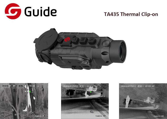 One Step Mounted Clip On Thermal Imager , Outdoor VersatileThermal Camera