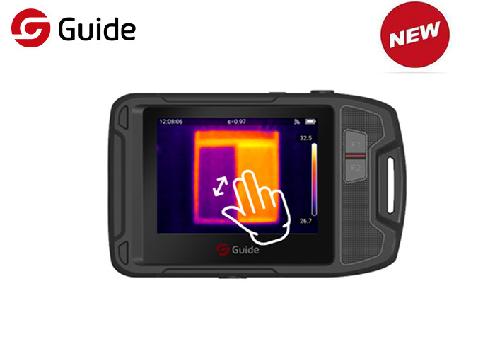 HVAC Inspection Industrial Thermal Imaging Camera , High Resolution Thermal Camera