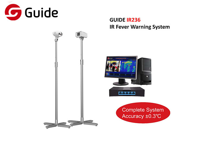 Automated IR Fever Warning System For Airport Metro Stations Hospitals , Thermal Imaging System