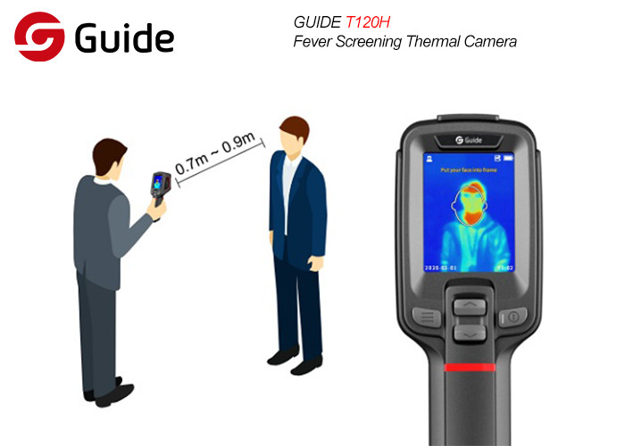 Handheld Infrared T120H Thermal Imaging Scanner Camera