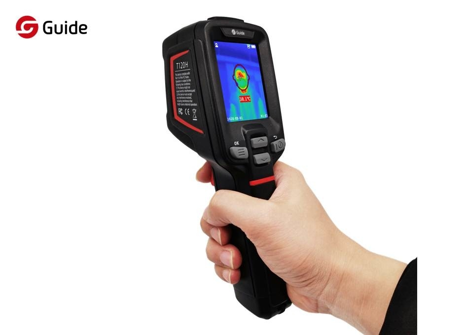 0.5℃ Accuracy Infrared Fever Screening Thermal Camera