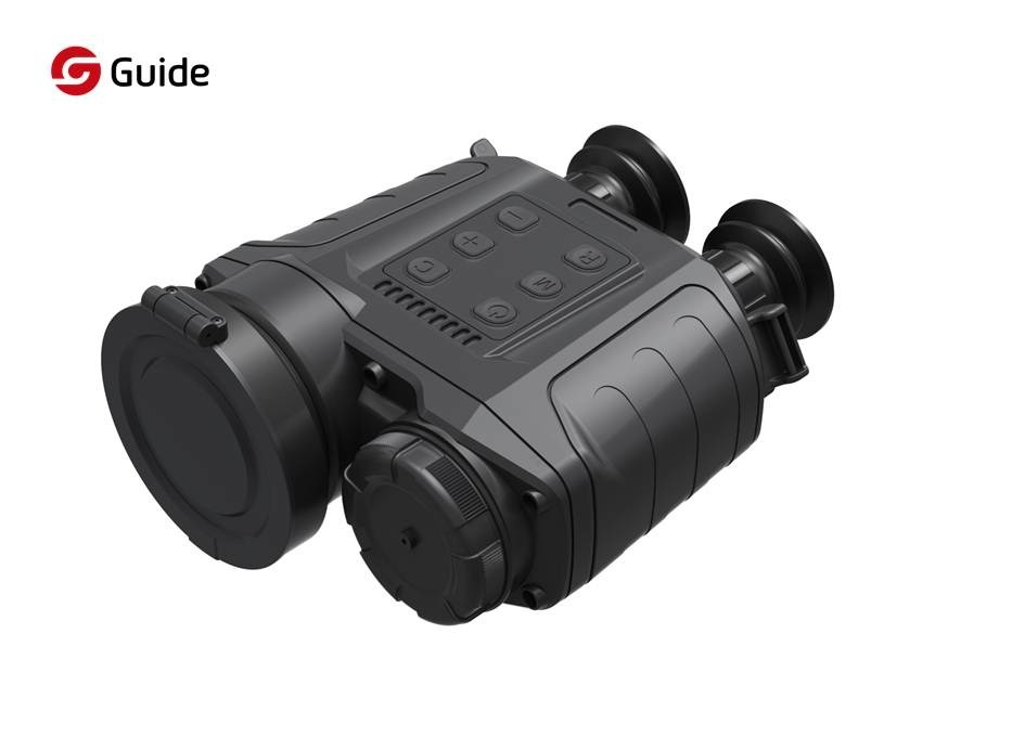 800X600 IR Thermal Imaging Binocular For Law Enforcement