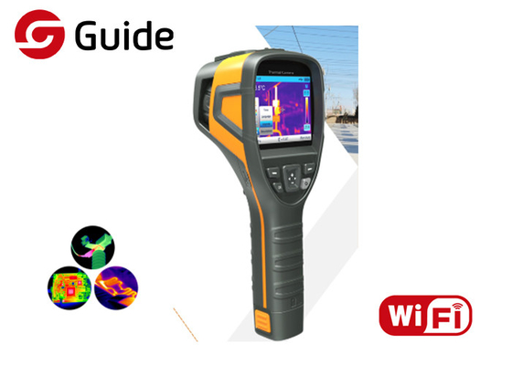 China Guide B0 80x80 Infrared Thermal Imaging Camera UNI-Body Integrated Metal Frame Design factory