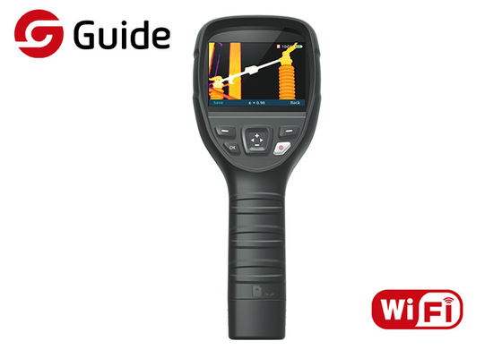 China WIFI Connectivity Handheld Thermal Imaging Camera With 160×120 17μM Guide B160V factory