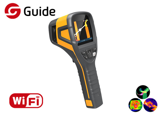 China WIFI Connectivity Handheld Infrared Thermal Imager with 160×120 17μm Guide B160V factory
