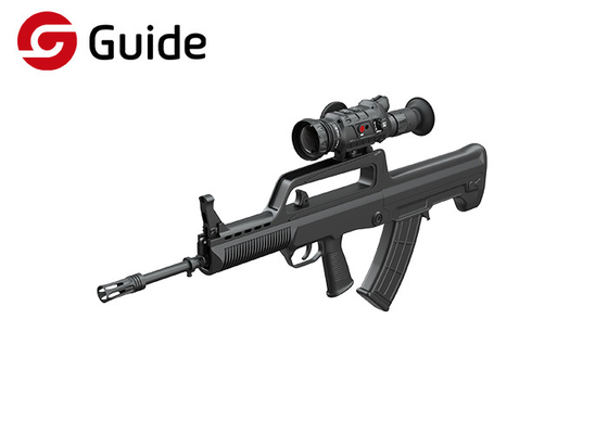 Military Thermal Imaging Scopes For Rifles , Black Infrared Heat Scope