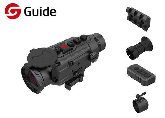 China Long Detection Range Clip On Thermal Scope , Black Color Thermal Hunting Scope factory
