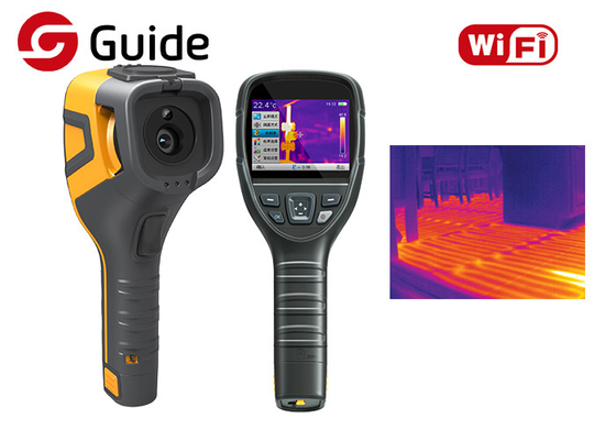 China Infrared Thermographic Handheld Thermal Camera For HAVC And Building Inspection factory