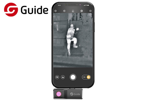 Android Smartphone Thermal Camera For Night Vision And HVAC Issue 25 HZ Frame Rate