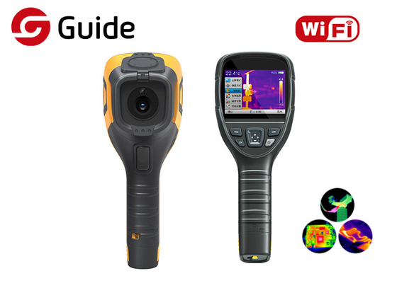 Rugged And Compact Handheld Thermal Imaging Camera For HVAC , Building Inspection