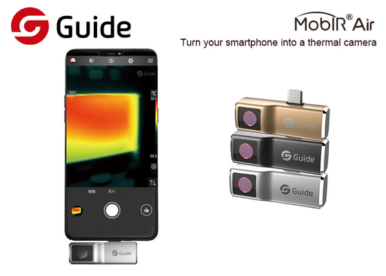 China Custom Thermography Camera For Smartphone FOV 50° And 120x90 Pixel factory