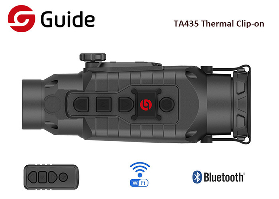 TA435 Front Attachment Clip On Thermal Scope With Internal Li-Ion Battery 3200mAh