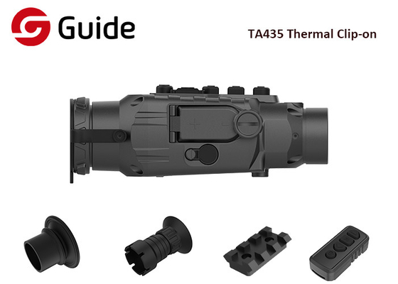 IP67 Thermal Imaging Add On Scope , 1024x768 Display Thermal Night Vision Scope