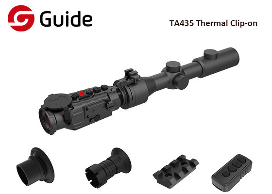 Long Detection Range Clip On Thermal Scope With 50HZ And 35mm Focal Length