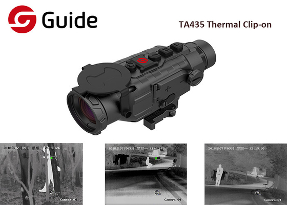China Multi Functional Clip On Thermal Scope Front Attachment With 400×300 IR Sensor factory