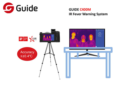 High Accuracy IR Thermal Imaging Camera CE Certified , IR Fever Screening System